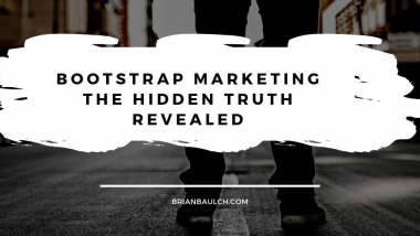 Bootstrap Marketing The Hidden Truth Revealed