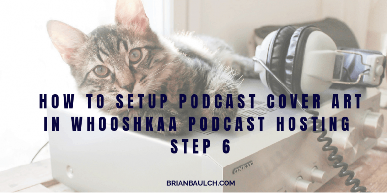 How to setup Podcast Cover Art in Whooshkaa Podcast Hosting - Step 6